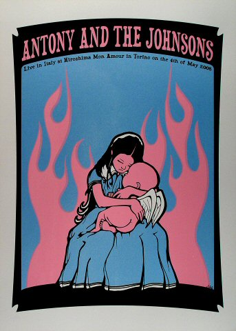"Antony and the Johnsons Poster from Hiroshima Mon Amour on 04 May 05: 19 5/8"" x 27 1/2"""