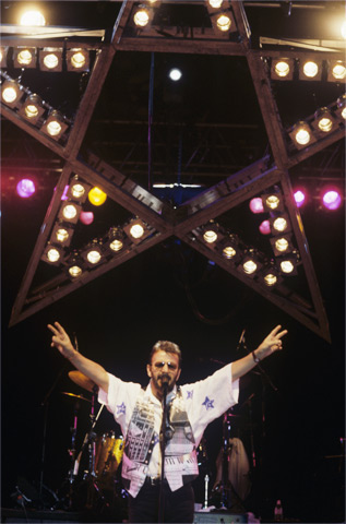 Ringo Starr BG Archives Print from Harvey's Lake Tahoe on 03 Aug 92: 16x20 C-Print