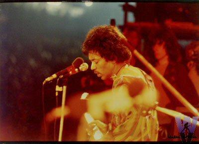 Jimi Hendrix Vintage Print from Woodside Bay on 31 Aug 70: 17x23 1/2 C-Print