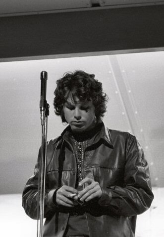 Jim Morrison Fine Art Print from Kennedy Municipal Stadium on 01 Aug 68: 11x14 Silver Gelatin