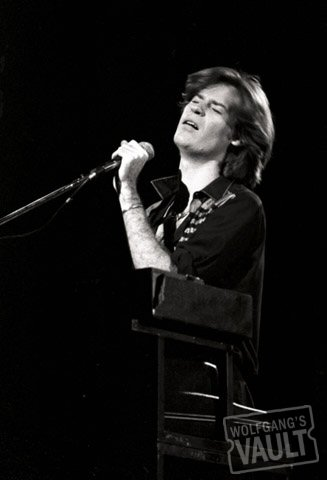 Daryl Hall Fine Art Print  on 28 Jul 77: 11x14 Silver Gelatin
