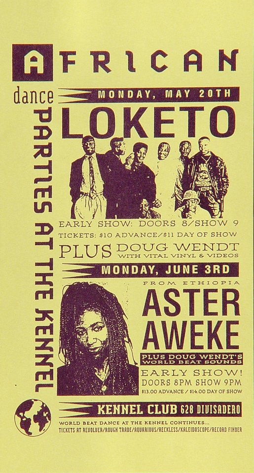 "Loketo Handbill from Kennel Club on 03 Jun 91: 2 7/8"" x 5 1/2"""
