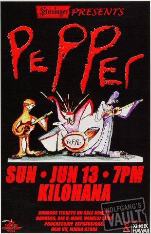 """Pepper Poster from Kilohana on 13 Jun 04: 11"""" x 17"""""""