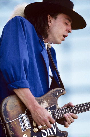 Stevie Ray Vaughan BG Archives Print from Laguna Seca Raceway on 31 May 87: 11x14 C-Print