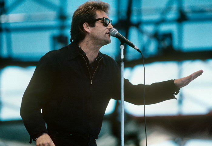 Huey Lewis BG Archives Print from Laguna Seca Raceway on 31 May 87: 11x14 C-Print