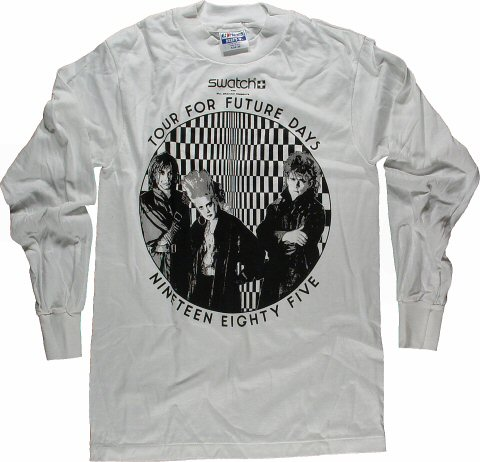 Thompson Twins Men's Vintage T-Shirt from Lawlor Events Center on 08 Nov 85: Medium