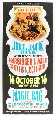 Jill Jack Poster from Magic Bag on 16 Oct 99: 10 1/2