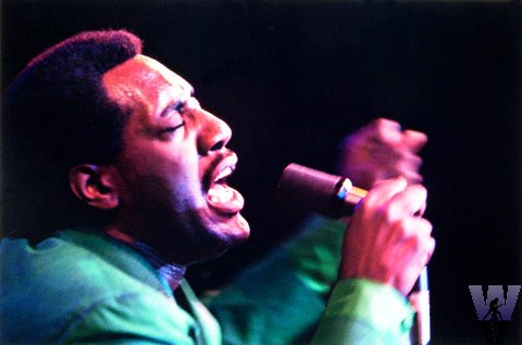Otis Redding Fine Art Print from Monterey Fairgrounds on 16 Jun 67: 11 1/2x17 Dye Transfer