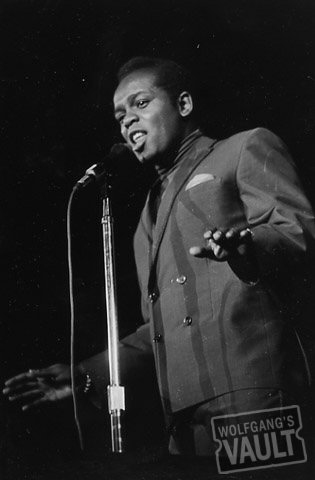 Lou Rawls Premium Vintage Print from Monterey Fairgrounds on 16 Jun 67: 8x10 Silver Gelatin Signed