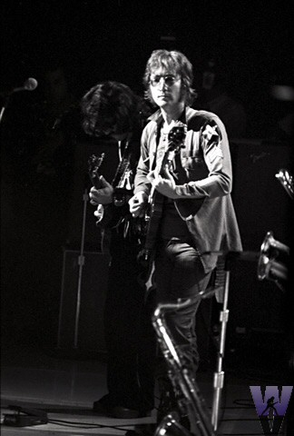 John Lennon Fine Art Print from Madison Square Garden on 30 Aug 72: 11x14 Silver Gelatin