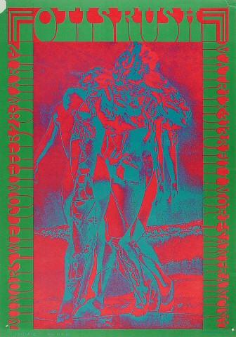 "Otis Rush Poster from Matrix on 28 Feb 67: 14 1/8"" x 20"""