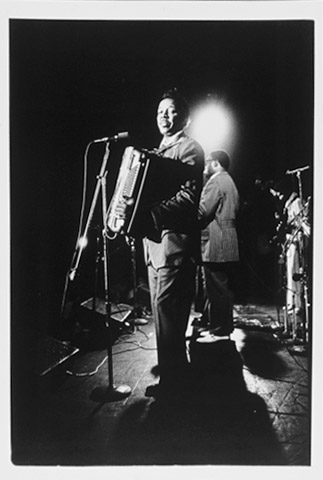 Clifton Chenier Fine Art Print from Boarding House : 11x14 SG Matted & Signed