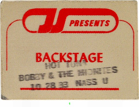 Hot Tuna Backstage Pass from Nassau Coliseum on 28 Oct 83: Pass 1