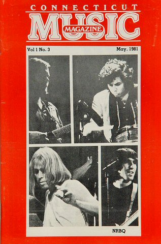 The New Riders of the Purple Sage Magazine from New Haven on 01 May 81: Magazine