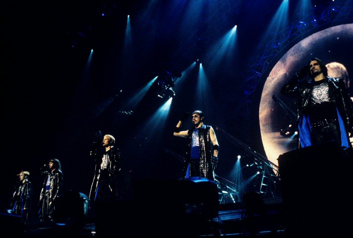 Backstreet Boys BG Archives Print from Oakland Coliseum Arena on 02 Mar 01: 11x14 C-Print