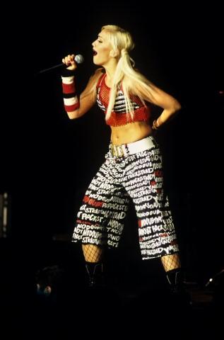 Gwen Stefani BG Archives Print from Oakland Coliseum Arena on 16 Nov 01: 11x14 C-Print