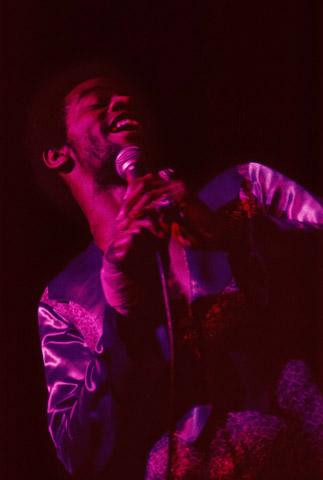 Al Green Fine Art Print from Oakland Coliseum Arena on 10 Feb 75: 16x20 C-Print Matted & Signed