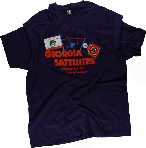 The Georgia Satellites Men's Vintage T-Shirt from Oakland Coliseum Arena on 14 Jan 87: Small