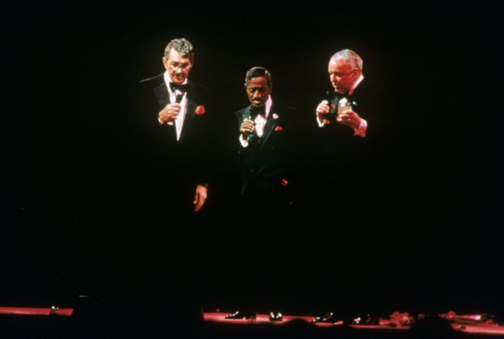 Frank Sinatra BG Archives Print from Oakland Coliseum Arena on 13 Mar 88: 11x14 C-Print