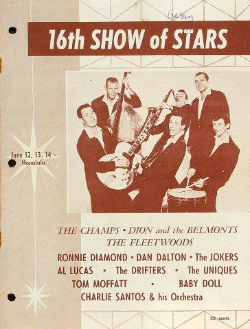 "Jimmy Clanton Program from Old Civic Auditorium on 12 Jun 59: 8"" x 10 5/8"""