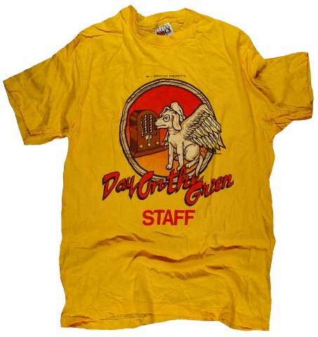REO Speedwagon Men's Vintage T-Shirt from Oakland Coliseum Stadium on 02 Aug 81: Large