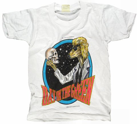 David Bowie Kid's Vintage T-Shirt from Oakland Coliseum Stadium on 17 Sep 83: Medium