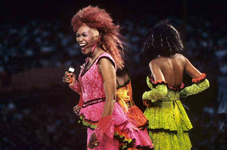 The Pointer Sisters BG Archives Print from Oakland Coliseum Stadium on 01 Sep 85: 16x20 C-Print