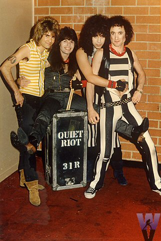 Quiet Riot Vintage Print from Old Waldorf on 06 May 83: 8x12 Cibachrome