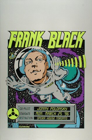 "Frank Black Proof from Opera House on 25 Mar 96: 23"" x 35"""