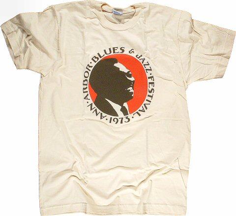 Freddie King Women's Retro T-Shirt from Otis Spann Memorial Field on 07 Sep 73: X Large