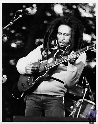 Bob Marley Fine Art Print from Pinecrest Country Club on 14 Jun 78: 11x14 Silver Gelatin