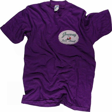 Journey Men's Vintage T-Shirt from Rose Bowl on 02 Jul 82: Small