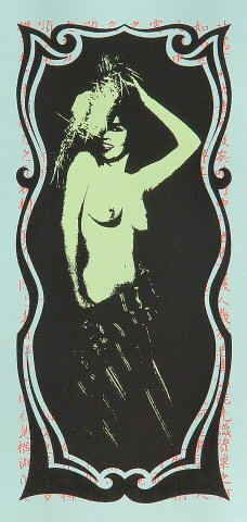 """The Strokes Handbill from Roseland on 27 Nov 02: 4 1/4"""" x 8 5/8"""""""