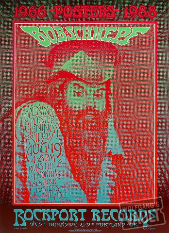 "Bob Schnepf Poster from Rockport Records on 19 Aug 88: 16"" x 22"""