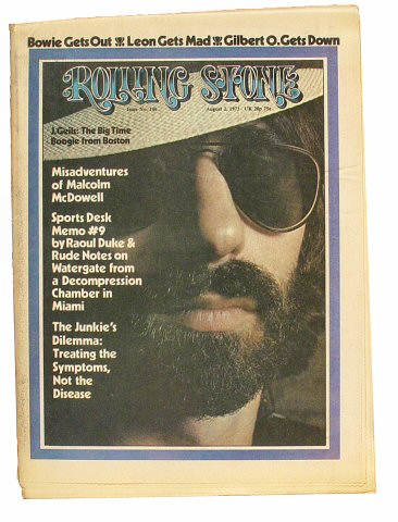 Peter Wolf Rolling Stone Magazine  on 02 Aug 73: Magazine