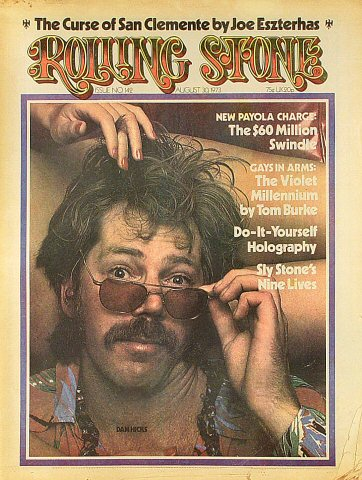Dan Hicks Rolling Stone Magazine  on 30 Aug 73: Magazine
