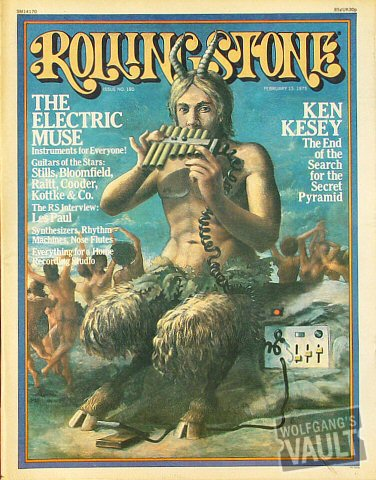 Stephen Stills Rolling Stone Magazine  on 13 Feb 75: Magazine
