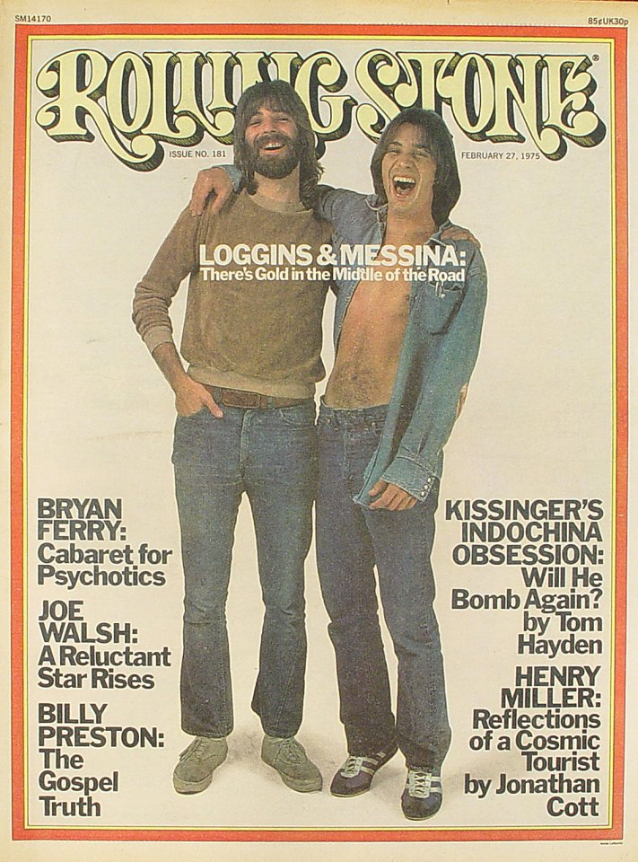 Loggins and Messina Rolling Stone Magazine  on 27 Feb 75: Magazine