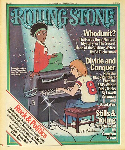 Stephen Stills Rolling Stone Magazine  on 09 Sep 76: Magazine