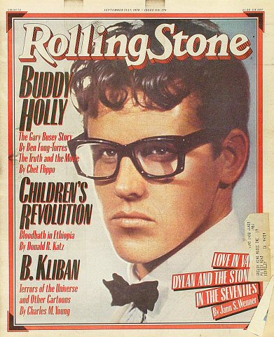 Buddy Holly Rolling Stone Magazine  on 21 Sep 78: Magazine