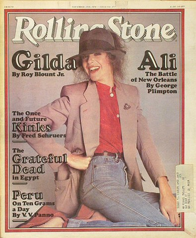 The Kinks Rolling Stone Magazine  on 02 Nov 78: Magazine