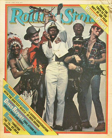 Village People Rolling Stone Magazine  on 19 Apr 79: Magazine