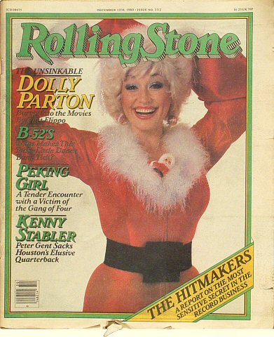 Dolly Parton Rolling Stone Magazine  on 11 Dec 80: Magazine