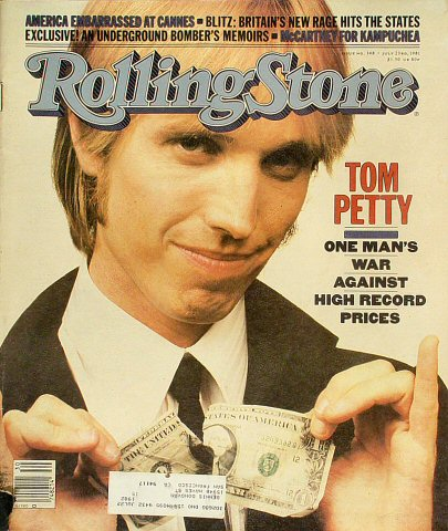 Tom Petty Rolling Stone Magazine  on 23 Jul 81: Magazine