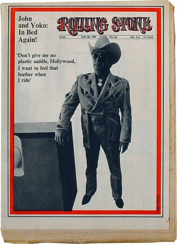 Buck Owens Rolling Stone Magazine  on 28 Jun 69: Magazine
