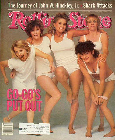 The Go-Go's Rolling Stone Magazine  on 05 Aug 82: Magazine