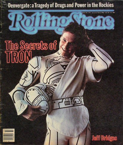 Jeff Bridges Rolling Stone Magazine  on 19 Aug 82: Magazine