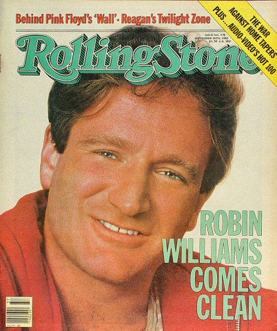 Robin Williams Rolling Stone Magazine  on 16 Sep 82: Magazine