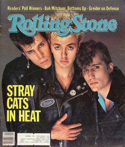Stray Cats Rolling Stone Magazine  on 03 Mar 83: Magazine