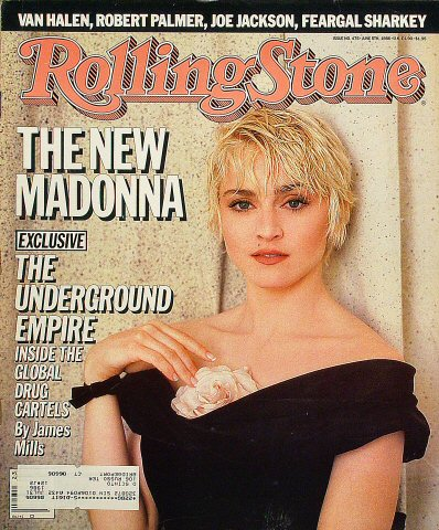 Madonna Rolling Stone Magazine  on 05 Jun 86: Magazine